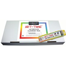 Art Time Watercolor Classroom Pack
