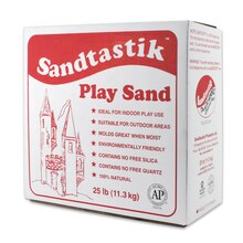 Sandtastik White Play Sand, 2 Count