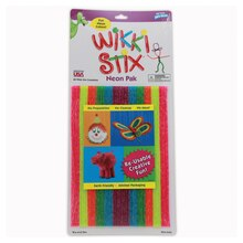 Wikki Stix Neon Colors, Pack of 48