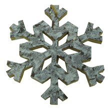 Pinecone Lodge Snowflake Wall Decor Accent By Celebrate It