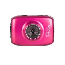 Vivitar DVR 781HD Action Camcorder, Pink