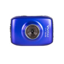 Vivitar DVR 781HD Action Camcorder, Blue