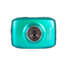 Vivitar DVR 781HD Action Camcorder, Teal