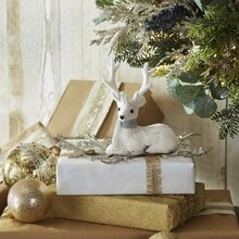 Deer Embellished Christmas Gift Wrap, medium