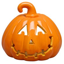Large Pumpkin Tea Light Holder By Ashland