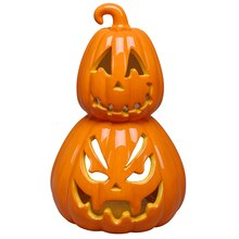 Stacked Pumpkin Tea Light Holder By Ashland
