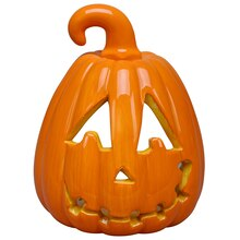 Small Pumpkin Tea Light Holder By Ashland