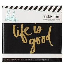Heidi Swapp Instalove Mini Photo Album, Black