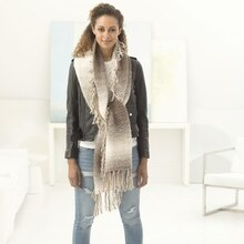 Lion Brand® Scarfie® Luna Triangle Knit Super Scarf, medium