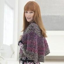 Lion Brand® Homespun® Thick & Quick® Scalloped Crochet Shawl, medium