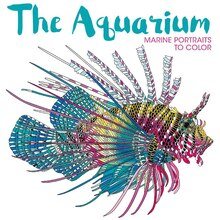 The Aquarium: Marine Portraits to Color, medium