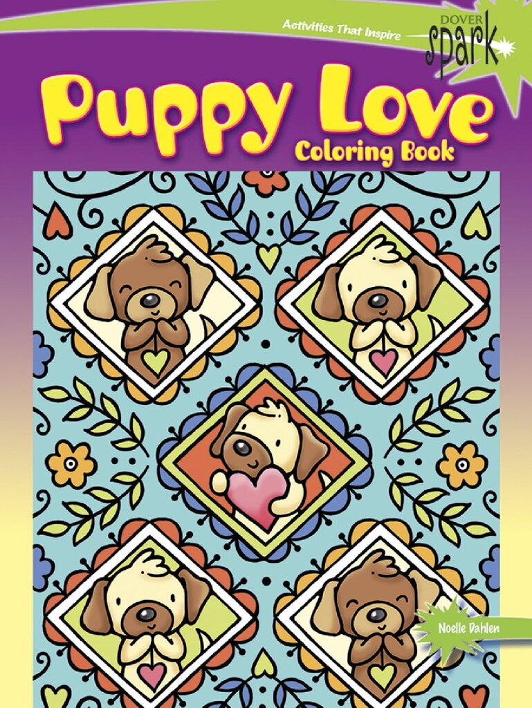 spark puppy love coloring book - Michaels Coloring Books