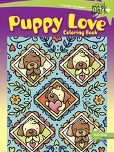 Spark Puppy Love Coloring Book