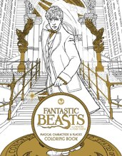 Fantastic Beasts and Where to Find Them: Magical Character & Places Coloring Book