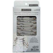 Silver Wire Shimmer Lights By Ashland Package