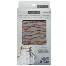 Copper Wire Shimmer Lights By Ashland Package