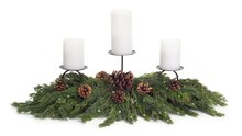 Cypress Candle Centerpiece