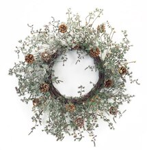 Snowy Pine Wreath