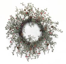 Pine Cone & Berry Wreath
