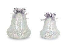 LED Mosaic Bells, Set of 2