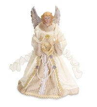 Cream Angel Tree Topper