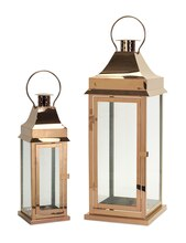 Copper Lantern, Set of 2