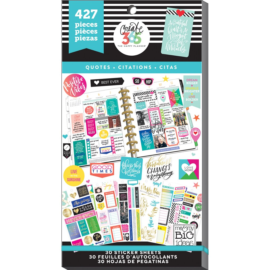 10 Ways to Organize your Planner Stickers with Free Labels!