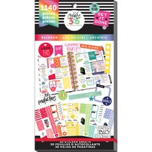 Create 365 The Happy Planner Rainbow Value Pack Stickers