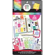 Create 365 The Happy Planner Big Rainbow Value Pack Stickers