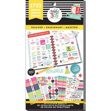 Create 365 The Happy Planner Teacher Value Pack Stickers