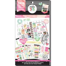 Create 365 The Happy Planner Watercolor Value Pack Stickers