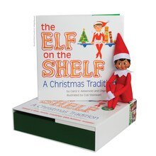 The Elf on the Shelf A Christmas Tradition, Dark Skin Girl Scout