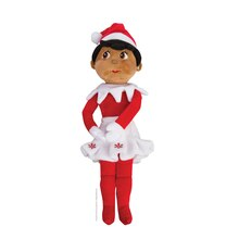 The Elf on the Shelf Plushee Pals Girl Scout, Dark Skin