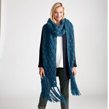 Loops & Threads® Country Loom™ Easy Breezy Knit Super Scarf, medium