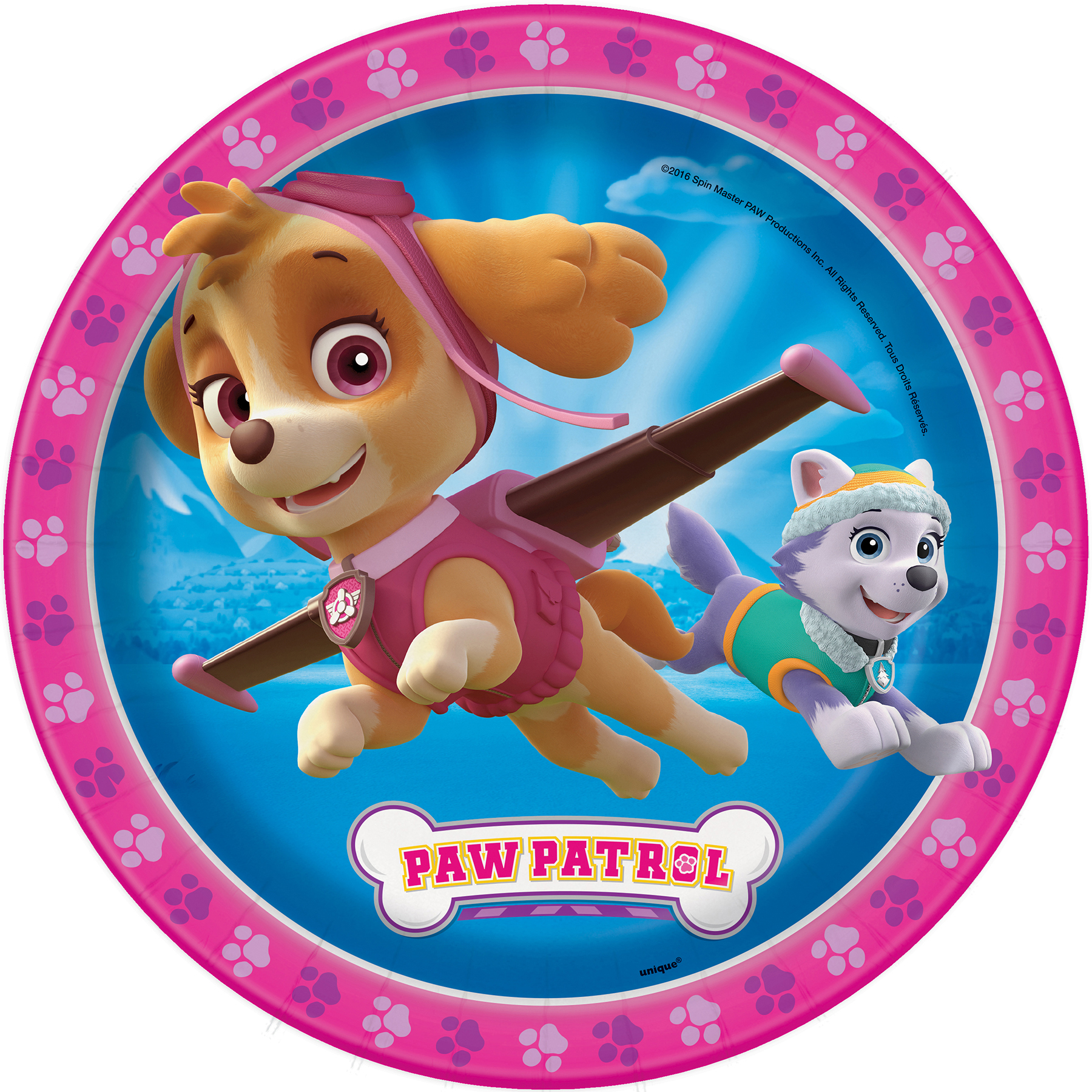 9  Girl PAW Patrol Party Plates ...  sc 1 st  Michaels Stores & Girl PAW Patrol Paper Plates | PAW Patrol Girl Birthday Party Supplies