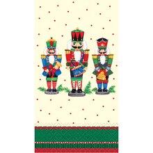 Nutcracker Christmas Paper Guest Towels, 16ct