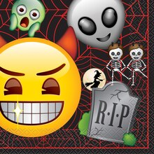 Emoji Halloween Luncheon Napkins, 16ct