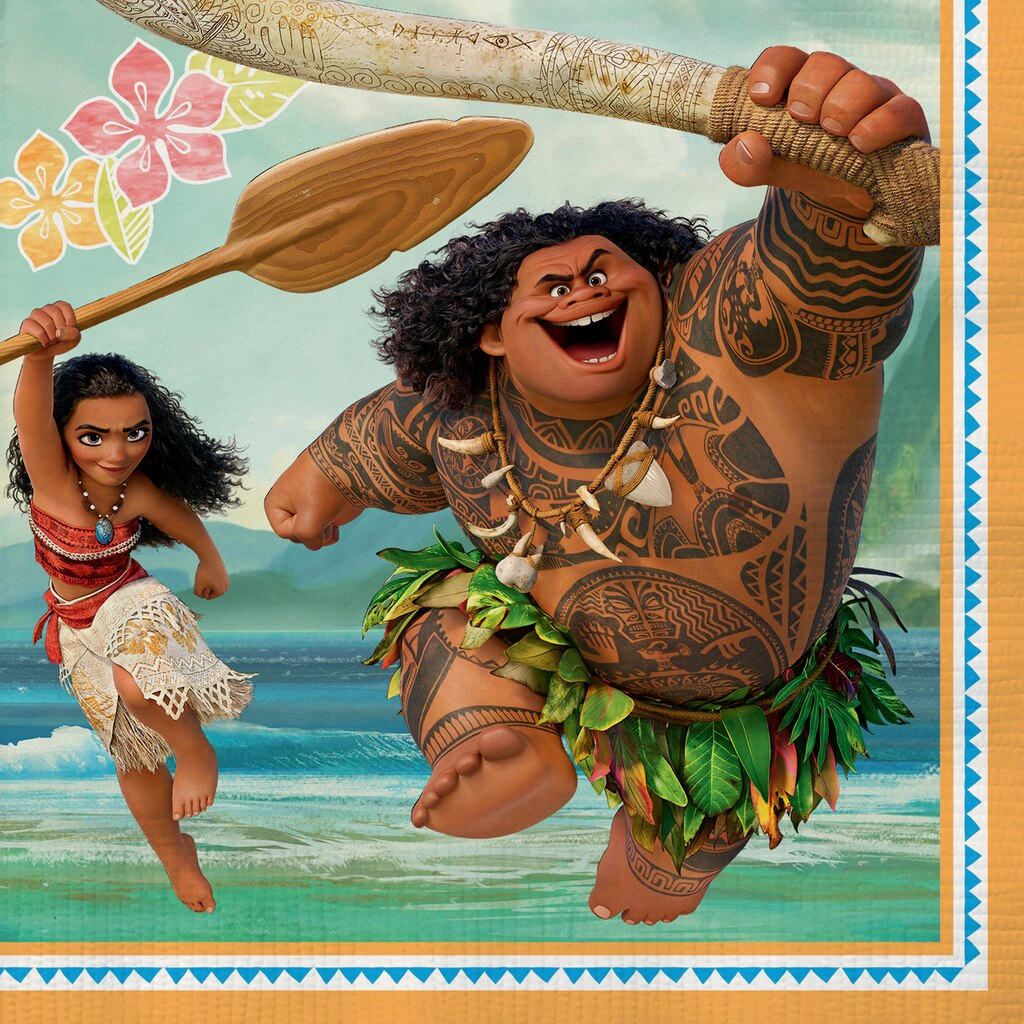 Disney Moana Party Napkins | Disney Moana Party Supplies
