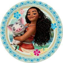"9"" Disney Moana Party Plates, 8ct"