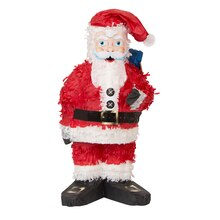 Mini Christmas Santa Pinata, medium