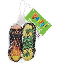 Mini Pull-Back Skateboard Party Favors, 6 Pack