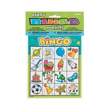 Kids Party Bingo for 8