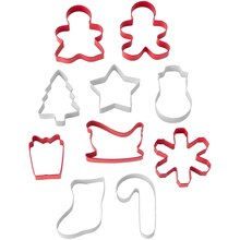 Holiday Cookie Cutter Set By Celebrate It Contents