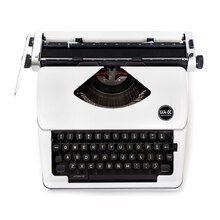 We R Memory Keepers Typecast Typewriter, White