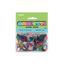 Balloon Shaped Foil Confetti, 0.5oz In Package