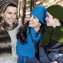 Loops & Threads® Charisma™ Crochet Hats and Scarves for the Family, medium