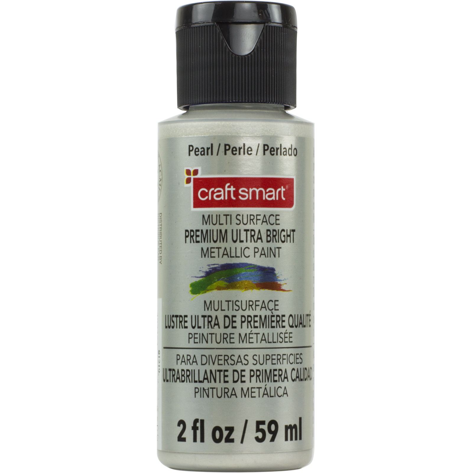 Multi Surface Premium Ultra Bright Metallic Paint By Craft Smart, Pearl