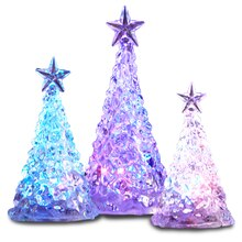 Multicolor LED Color Changing Christmas Trees Decor