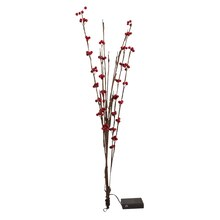 LED Cranberry Branch by Apothecary & Company