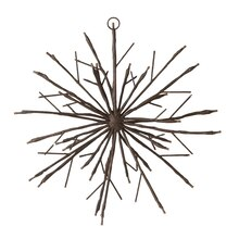 Twig LED Snowflake Wall Decor Accent